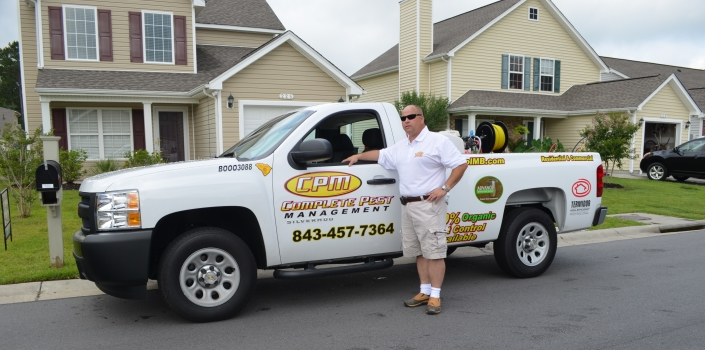 Myrtle Beach Pest Control Service Truck at CPM